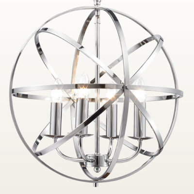 Besca Pendant Light Polished Chrome