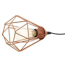 Tarbes copper table lamp