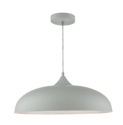Kaelan 1 Light Pendant Soft Matt Grey